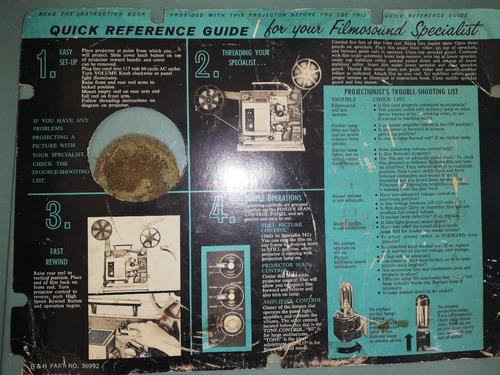 proyector 16mm. bell & howell estuche original