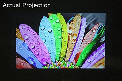 proyector aaxa hd pico led con batería recargable de 150 min