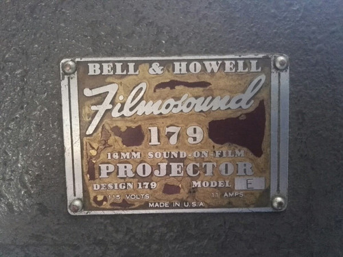 proyector antiguo bell and howell filmosound 179 decoracion