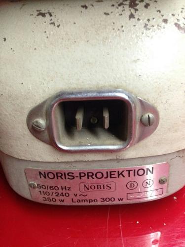 proyector antiguo marca noris