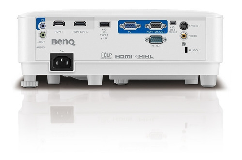 proyector benq oficina mx604 xga 3600 lúmenes dual hdmi