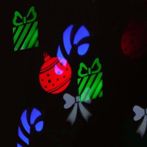proyector de luces led colores navidad y halloween