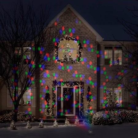 Proyector De Luces Led De Navidad Exterior E Interior