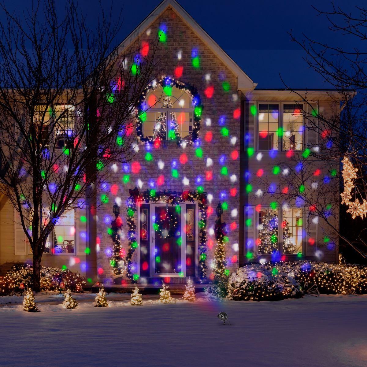 566e09677cc Proyector De Luces Led De Navidad Exterior E Interior -   1