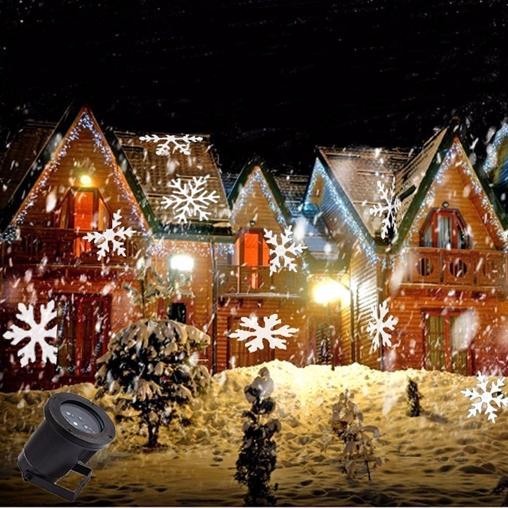 proyector de luces led para casas navidad en mercado libre. Black Bedroom Furniture Sets. Home Design Ideas
