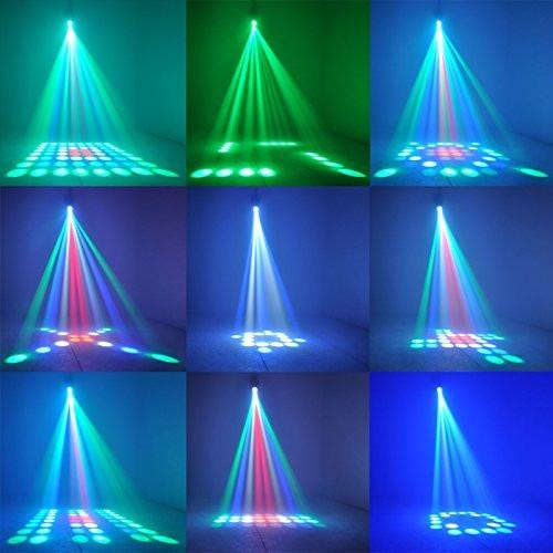 proyector de luz 64 led audioritmico airship tecno cooler