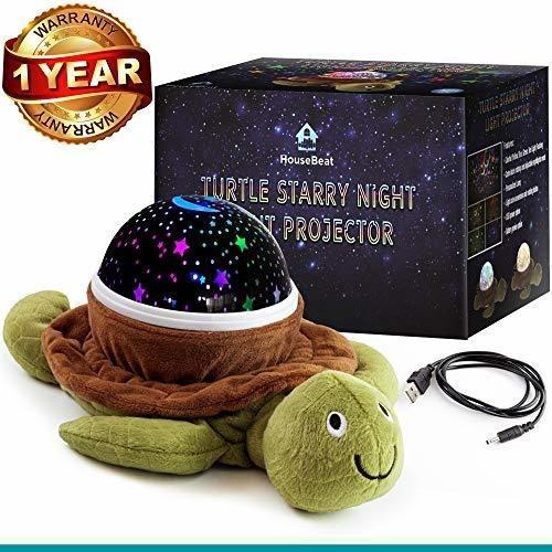 proyector de luz nocturna housebeat baby nursery star, diver