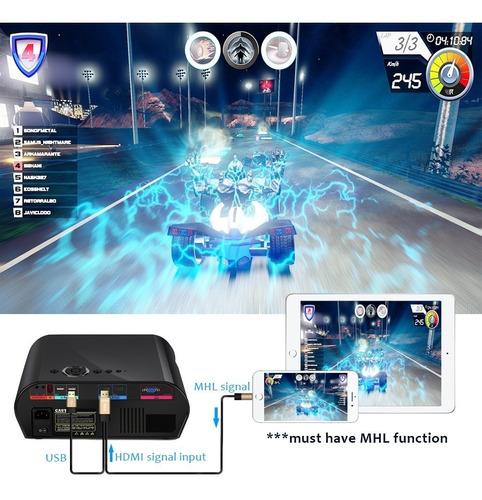 proyector de película goodee 3200 luminous efficiency 1280x8