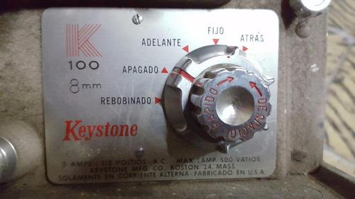 proyector de peliculas antiguo 8 mm keystone vintage colecci