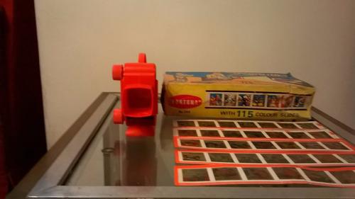 proyector diapositivas fortuna año 60- juguetes devoto