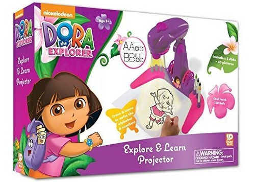 proyector dora the explorer trace and learn