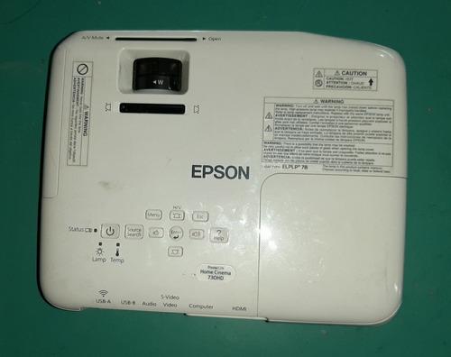 proyector epson 730hd - excelente imagen - impecable estado