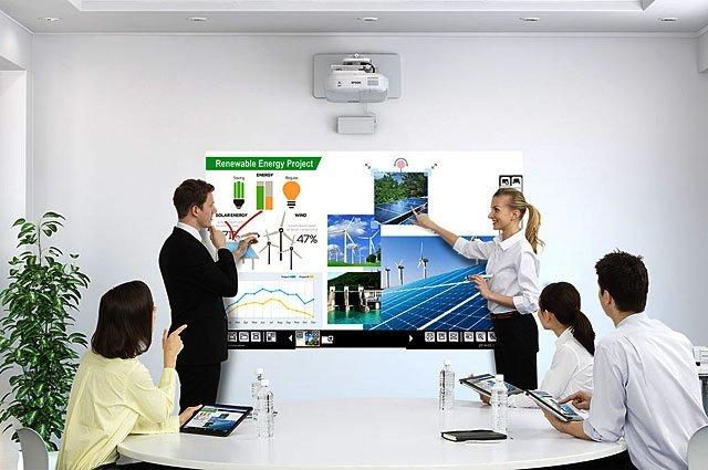 Video Proyector Interactivo Epson Brightlink 695Wi+ 3500 Lum
