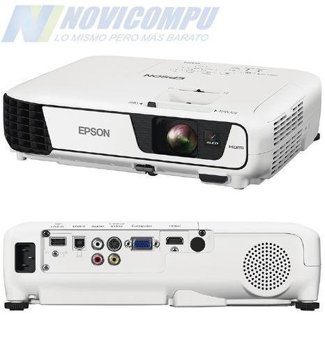 proyector epson ex3240 3lcd, 3.200 lumenes, hdmi, vga