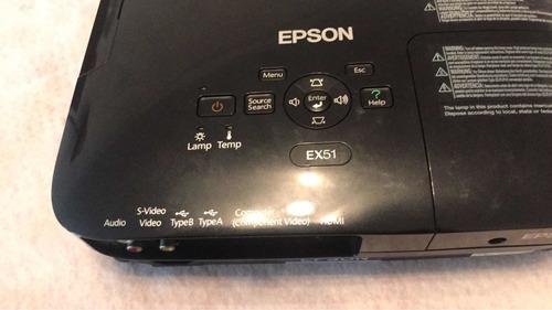 proyector epson ex51