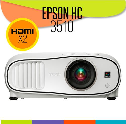 proyector epson home cinema hc3510 full hd 3d cine en casa