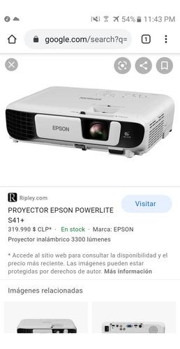 proyector epson, nuevo sin uso. valor el de la foto