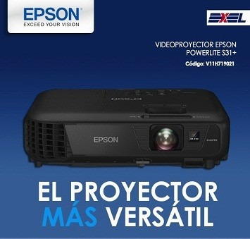 proyector epson powerlite s31
