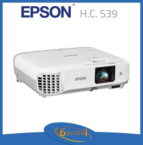 proyector epson powerlite s39 - 3300 lúmenes - recoleta
