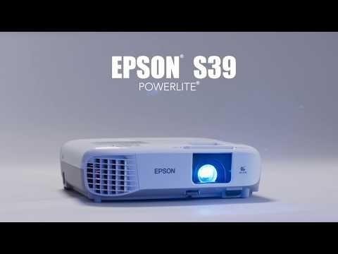 proyector epson powerlite s39 3300 lumens hdmi (470 trump)