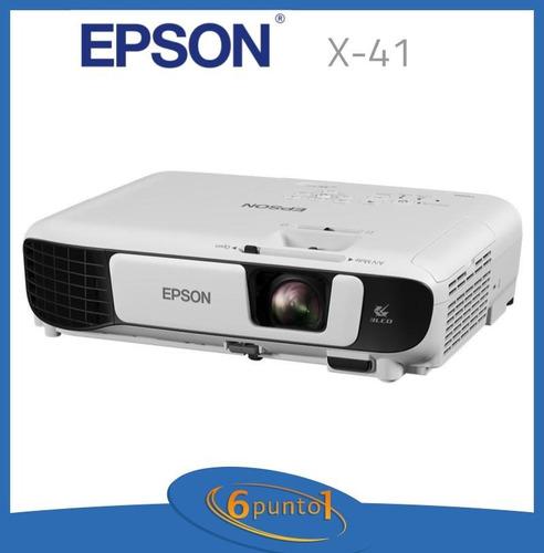 proyector epson powerlite x-41 - 3600 lúmenes 6 cuotas s/ i