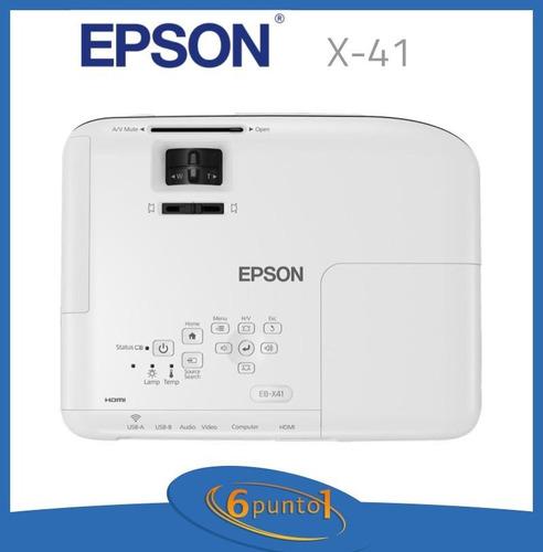 proyector epson powerlite x-41 - 3600 lúmenes - recoleta
