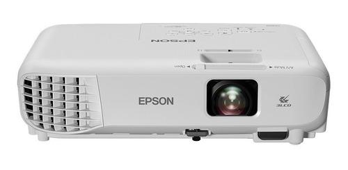 proyector epson powerlite x05+ 3300 lumenes, hdmi,