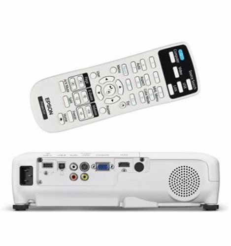 proyector epson powerlite x36 3600 wifi estuche control hdmi