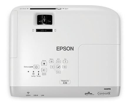 proyector epson powerlite x39 3500 lumenes xga hdmi ethernet