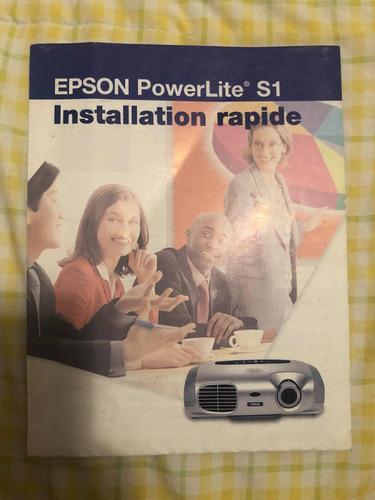 proyector epson. s1