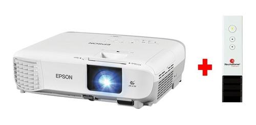 proyector epson s39 powerlite hdmi + presentador de regalo