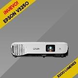 proyector epson vs250 - 3200 lumenes hdmi nuevo 3300 svga