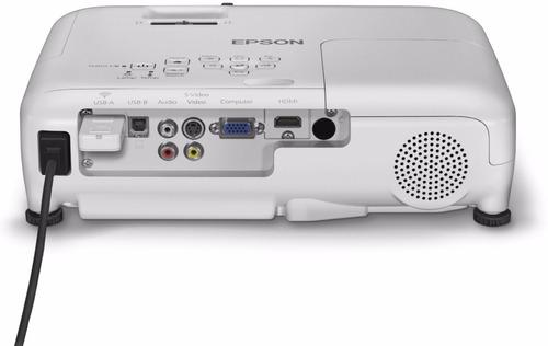 proyector epson x36+ 3600 lumen mejor q s18 x24 ex3220 vs240