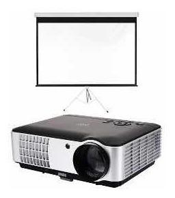 proyector full hd + pantalla
