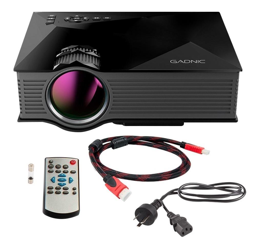 Proyector Gadnic Miracast Full Hd 1080p Wifi Rca Hdmi Usb