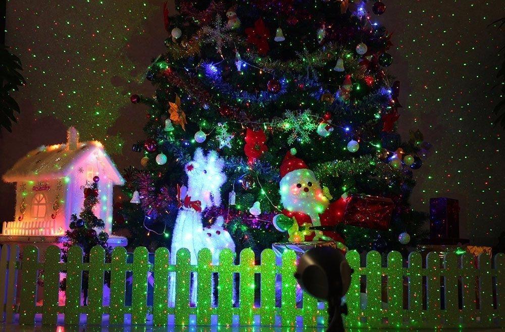 Proyector Laser Estrellas Luces Navidad Fiesta Cumplea 241 Os