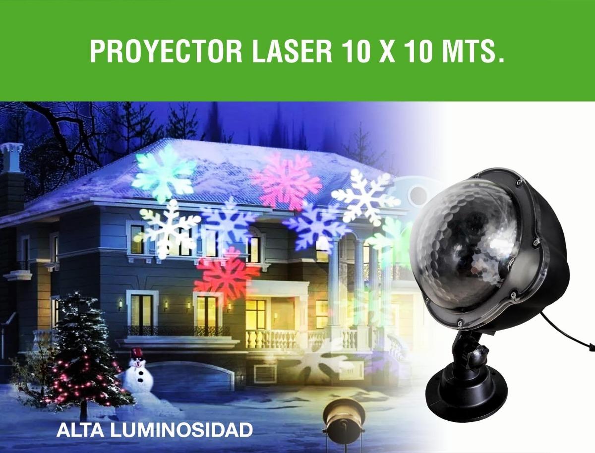 188514aff41 Proyector Laser Navidad Colores Exterior Para Fachadas -   11.900 en ...
