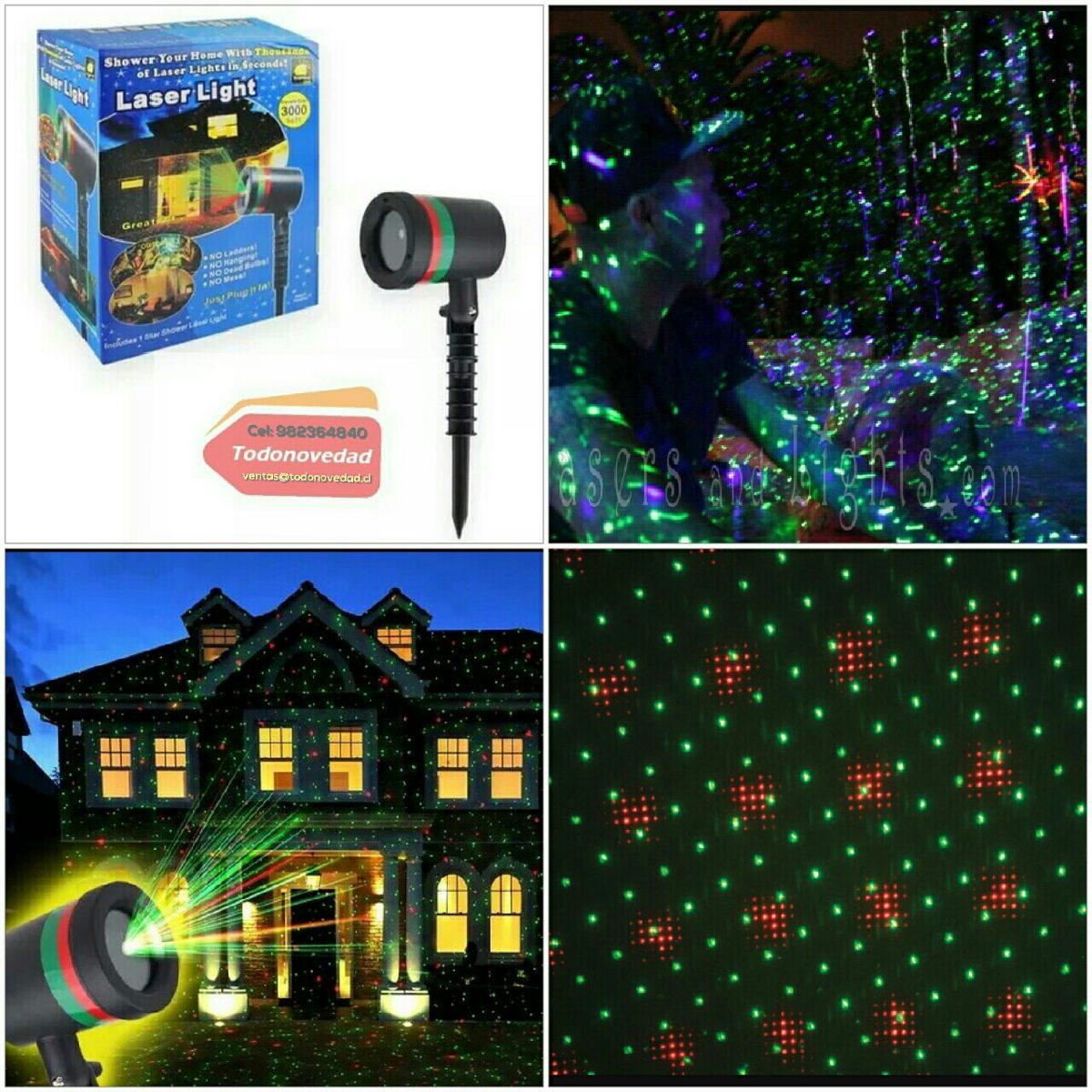 298104eb8bf Proyector Laser Navidad Navideño Lluvia Estrella -   11.790 en ...