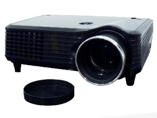 proyector led 1800 lumen multimedia vga hdmi usb tv rca