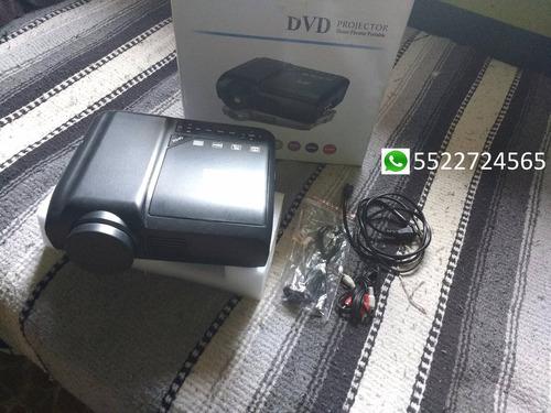proyector led con dvd (tv, lector de tarjetas,usb)