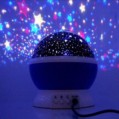 proyector led espanta cuco estrellas luna para bebes / ofc