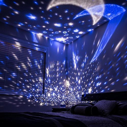 proyector led espantacuco  espanta cuco niño niña giratorio
