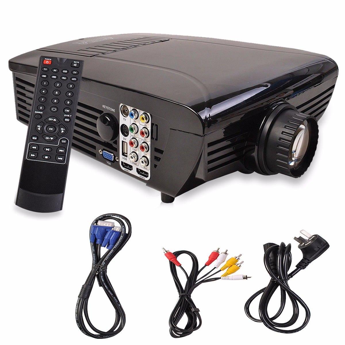 Proyector led hd 2000 lumenes multimedia hdmi cine en casa - Proyector cine en casa ...