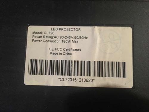 proyector led hd 720 nativo