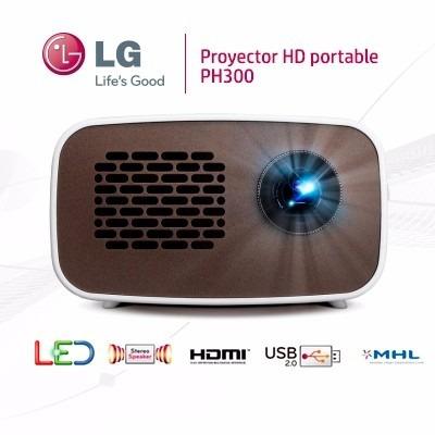 proyector led lg ph300 - portátil hd batería 2.5 horas