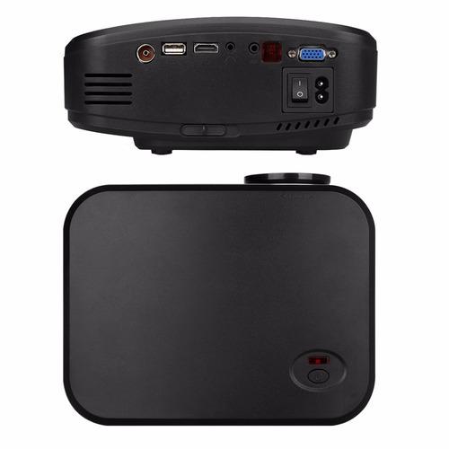 proyector led lm cine casa mando distancia soporte negro