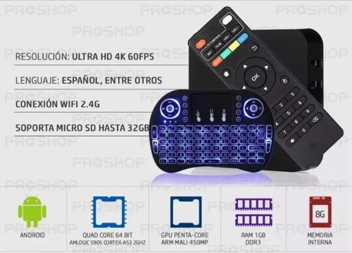 proyector led portatil 1200lm hd wifi android tv box teclado