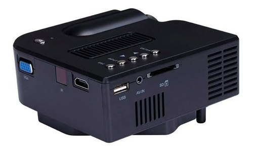 proyector led portatil 48lm hd stereo control plug and play