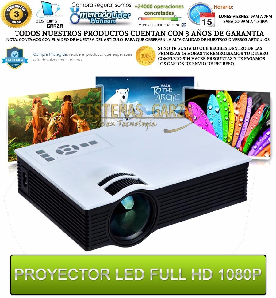 2000 Lumens Full Hd 1080p Led Lcd 3d Vga Hdmi Tv Home: Proyector Led Profesional 2000 Lumens Hdmi Full Hd 1080p