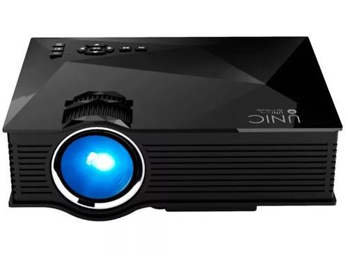 proyector led unic hd 800x480 3d wifi celular iphon 1200 msi